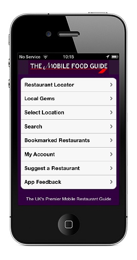 The Mobile Food Guide iPhone App